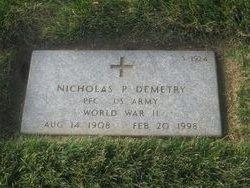 Nicholas P Demetry
