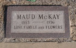 Maud <I>Everhart</I> McKay