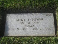 Clyde T Devine