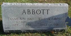 Fannie <I>Bryant</I> Abbott