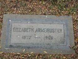 Elizabeth <I>Diehl</I> Armbruster
