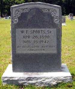 """William Franklin """"Willie"""" Sports, Sr"""