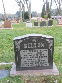 """Cecil Graham """"Ceece"""" Dillon"""