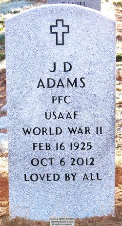 PFC J. D. Adams