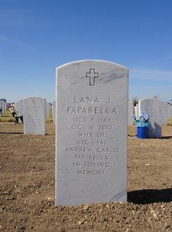 Lana Jean <I>Scott</I> Paparella