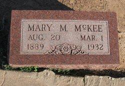 Mary M McKee