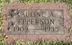 Pauline A Epperson