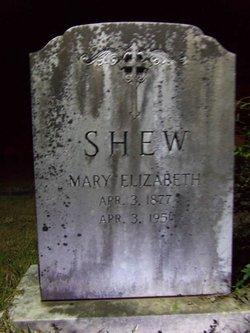 Mary Elizabeth Shew