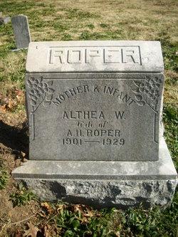 Althea Wilma Roper