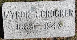 Myron R Crocker