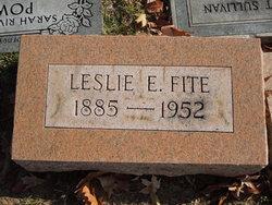 Leslie Eugene Fite