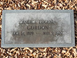 Candice Eugenia <I>Gordon</I> Gordon