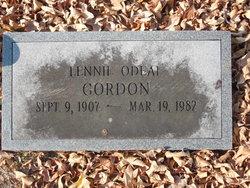 Lennie Odeal <I>White</I> Gordon