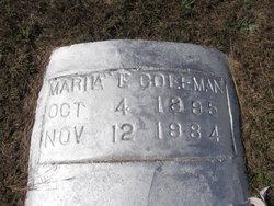 Maria E. Coleman