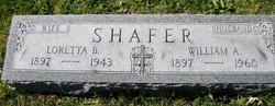 William A Shafer