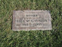 """Sarah Ellen """"Ella"""" <I>McGinley</I> Finlon"""