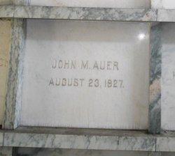 John Martin Auer