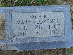 Mary Florence <I>Jenkins</I> Alderson