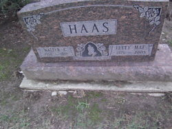Letty Mae <I>Robbins</I> Haas