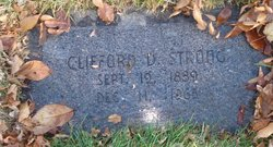Clifford Duncan Strong