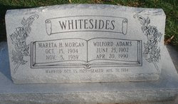Wilford Adams Whitesides