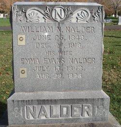 Emma <I>Evans</I> Nalder