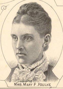 Mary Frances <I>Underwood</I> Foulke