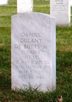 1LT Daniel Dulany DeButts Jr.