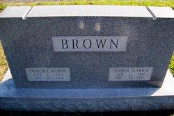 Florence <I>Mahan</I> Brown