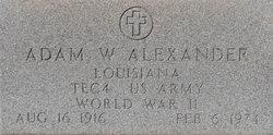 Adam William Alexander