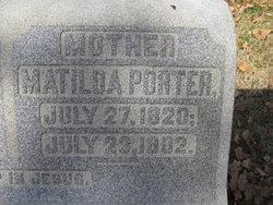 Matilda <I>Shinkle</I> Porter