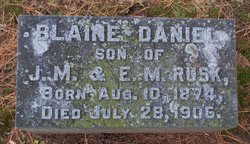 Blaine Daniel Rusk
