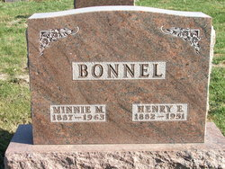 Minnie Mae <I>Bagby</I> Bonnel