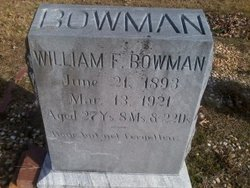 William F Bowman