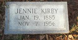 Jennie May <I>McCluney</I> Kirby