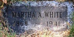 Martha A. <I>Ballard</I> White