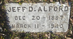 Jefferson Davis Alford