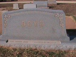 """L. E. C. """"Leroy"""" Boyd"""