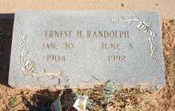 Ernest H Randolph