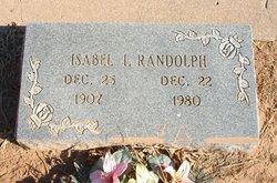 Isabel I Randolph