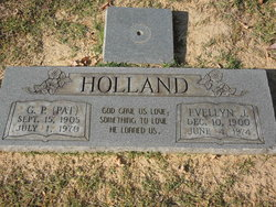 Evellyn J Holland