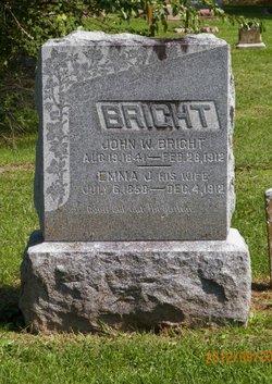 Emma Jane <I>Pritchett</I> Bright