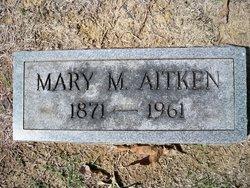 Mary M <I>Pilkey</I> Aitken