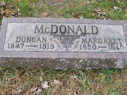 Margaret <I>Young</I> McDonald