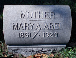 Mary A Abel