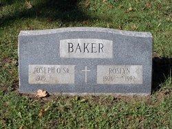 Joseph O Baker
