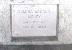 Elmina <I>Warner</I> Meley