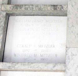 Dr Gerald P. Metzler
