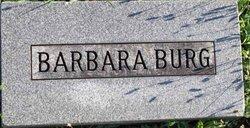 Barbara <I>Mayer</I> Burg