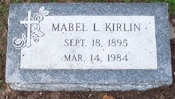 Mabel Lee Kirlin